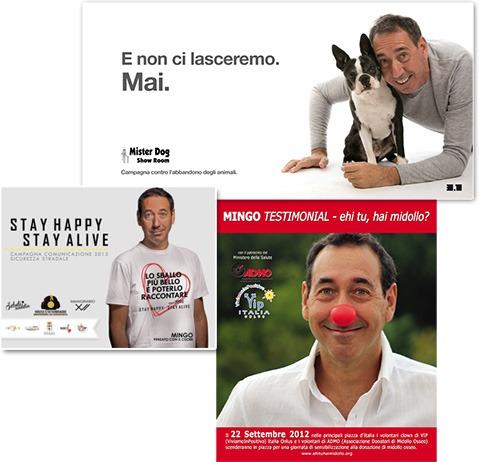 """Mingo testimonial di """"Stay Happy, Stay Alive"""", ADMO e l'abbandono dei cani"""